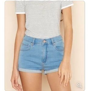 3/$30 Garage retro high waist shorts 3